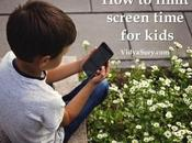Easy Ways Limit Screen Time Kids