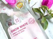 Medicos-V SNOW WHITE White Hydrating Essential Mask REVIEW Skin18.com