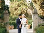 Beautiful White Green Pink Wedding Italy