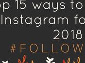 Ways More Followers Instagram 2018