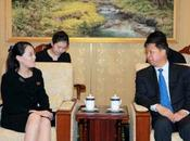 Jong Meets with International Liaison Department Boss