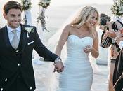 Classy Elegant Wedding Santorini Hollie David