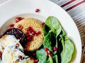 Recipe|| Roasted Aubergine, Chilli Pesto Mozzarella Slices