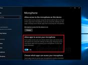 Microphone Working Windows April 2018 Update