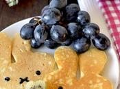 Easy Basic Thick Fuffy Japanese Pancakes Hotcakes パンケーキ Made with Butter Less Sugar