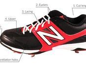 Anatomy Baseball Cleat