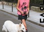 "Pauline Hoarau Walking Dogs ""Short Story"" ELLE Canada Quebec Benjamin Kanarek"
