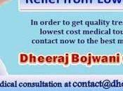 Treatment Back Pain India Affordable Cost; Your Cured Just Days
