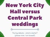 York City Hall Versus Central Park Weddings