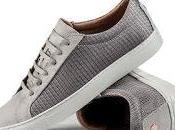 Grey: Footwear White Covert Kennedy Sneaker