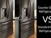 Counter Depth Refrigerators Standard