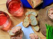 Salmon Rillettes with Vinho Verde Wine