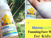 Aloe Vera Coconut Based Foaming Face Wash Kids Mamaearth Review