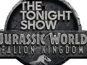 "Chris Pratt Bryce Dallas Howard Help Jimmy Celebrate Entire Week ""Jurassic World: Fallen Kingdom"" ""The Tonight Show"""