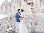 White Coral Styled Shoot Santorini