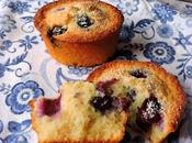 Blueberry, Lime Coconut Friands