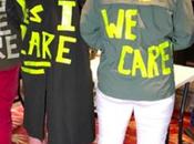 "Moms Answer Melania Trump Jacket ""Yes Care!"""