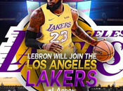 LeBron James Will Playing B-ball with Lakers