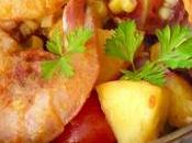 Recipe: Australian Prawns with Peach Salsa2 Read