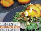Grilled Chicken with Peach Arugula Salad (gluten Free)