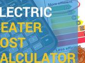 Electric Space Heater Cost Calculator