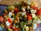Summer Blast Salad with Avocado, Make Chickpeas Avocado Recipes