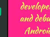 Enable Developer Options Debugging Android Upper