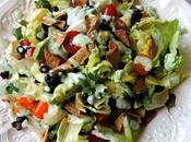Mexican Salad with Coriander Lime Dressing