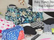 Baby Mama's Hospital Checklist