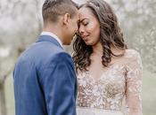 Beautiful Wedding with Olive Leaves Falon