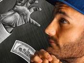 Work Progress (detail) Visit Http://benheine.com #benheineart #drawing #photography #pencilvscamera #art #creative #sketch #photodrawing #artist #music #photo #photographie #benheine #banknote #usa #trump #hand #dessin #money