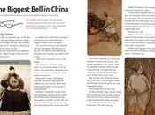 BIGGEST BELL CHINA, Published Touchdown (The School Magazine Australia)