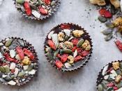 Superfood Cacao Fudge Bites (Gluten Free, Paleo Vegan)