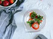 Strawberry Detox Water Waste Less Drink More