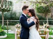 Blush Garden Styled Shoot with Magical Love Story