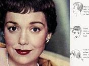 Three Hollywood Fall Hairstyles 1950