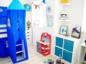 Finished Boys Bedroom Makeover: Ethans Blue, White Room