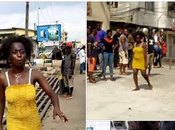 Young Pretty Lady Runs After Having with Married (Photos)
