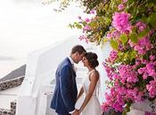 Intimate Dreamy Wedding Santorini Alecia Paul