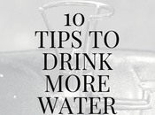 Tips Drink More Water