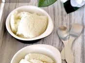 Skinny Creamy Italian Vanilla Gelato Fior Latte Made with Minimal Sugar Cream