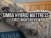 Simba Hybrid Mattress Review First Night #simbasleep Mattress!