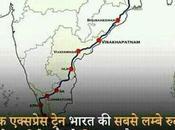 India's Longest Route Train.
