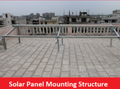 Solar Panel Mounting Structure Manufacturer India