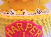 Wonderfully Stocks Sunshine Birthday Cake
