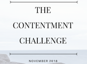 Contentment Challenge November Final Month