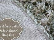 Make Your Home Feel Cozy Comfortable with This Beautiful Casablanca Retro Modern Round Shag