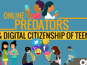 Online Predators Digital Citizenship Teens Infographic