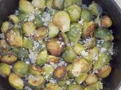 Sweet Sour Brussel Sprouts