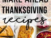 Make Ahead Thanksgiving Recipes